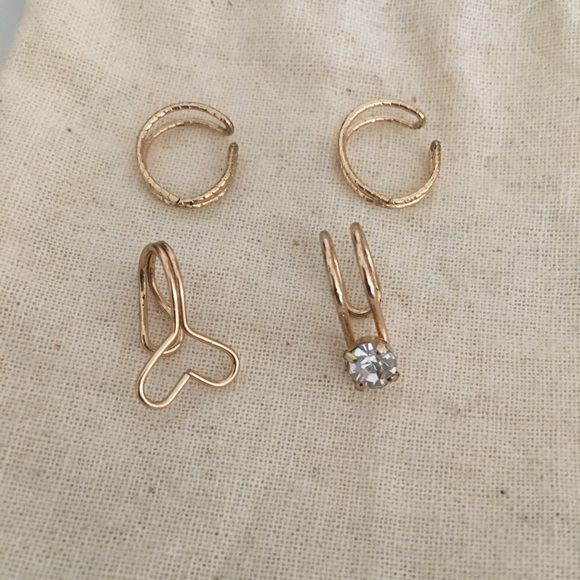 Urban Outfitters Jewelry - Ear Cuff Set